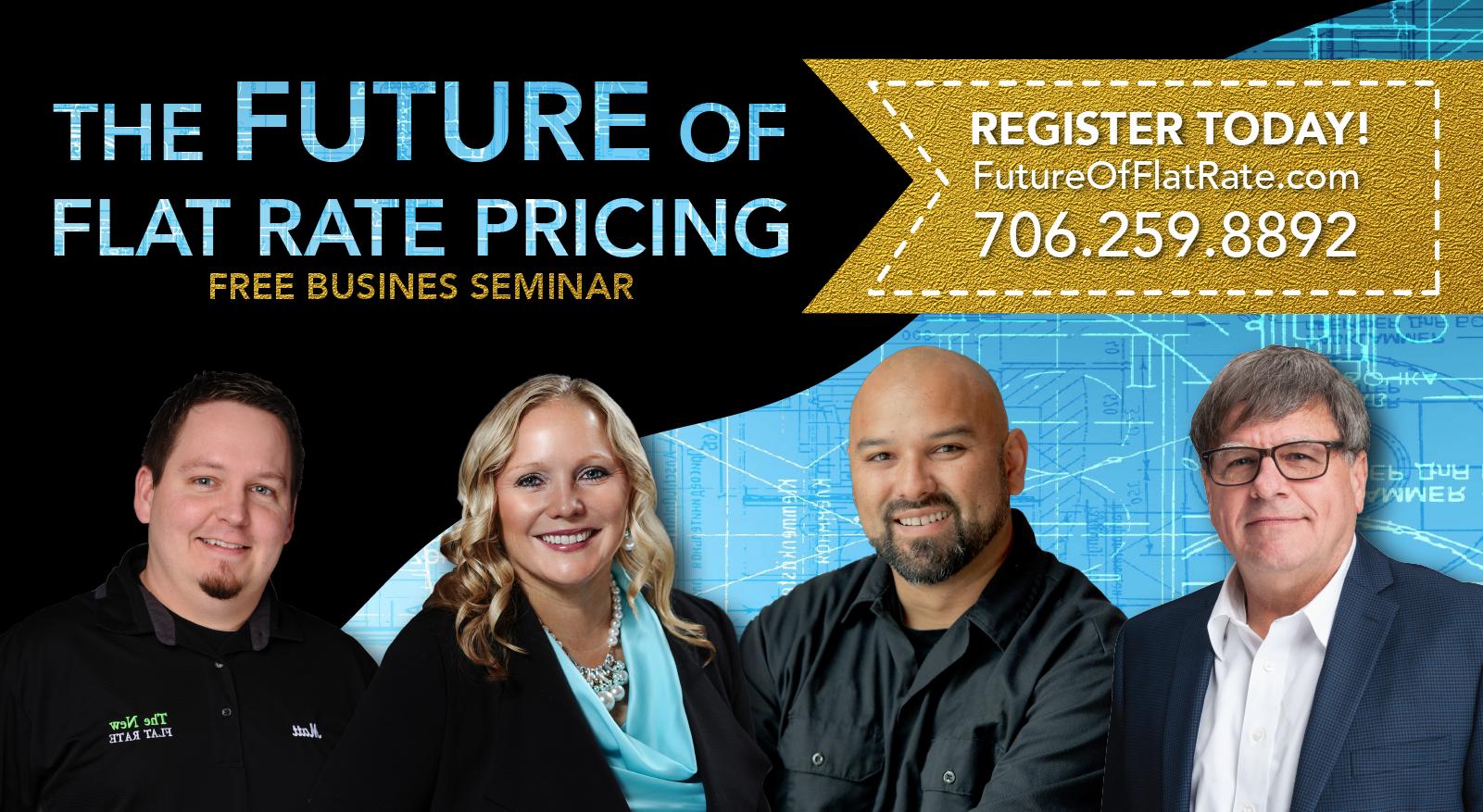 flat rate pricing seminar