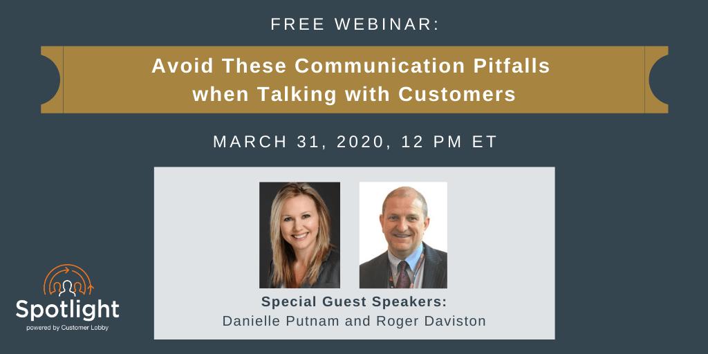 Communication Pitfalls (FREE WEBINAR)